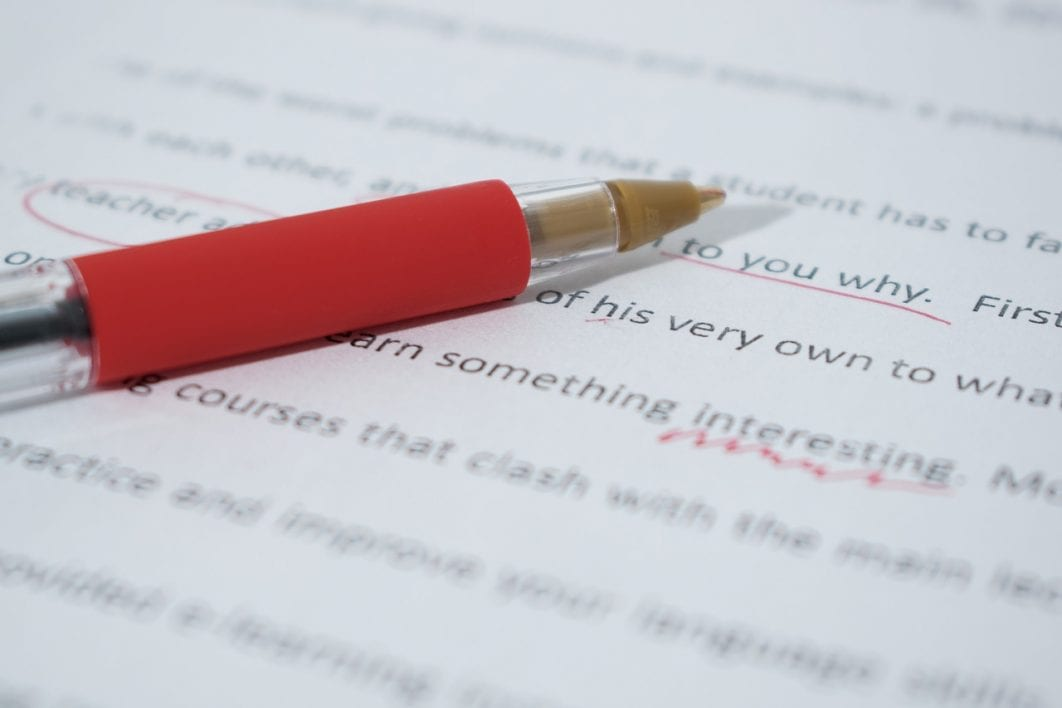 Essay touch up writing