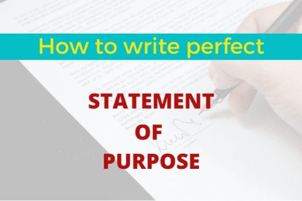 Quick Tips to Write a Perfect SoP to Study MBA from the UK 1