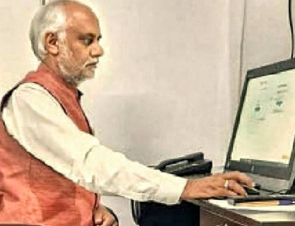 Vice-chancellor of R.G.V.P College Prepares for Online Exams 37