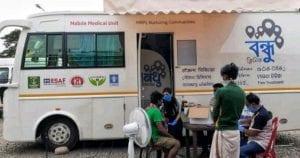 Bandhu: Clinic On-Wheels for Migrant Laborers amid Corona Outbreak 4