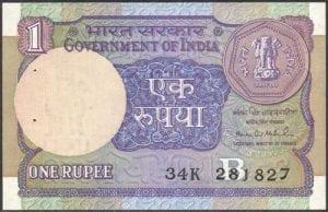 1 rs note