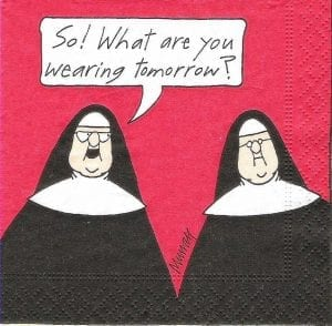 Life as convent school girls