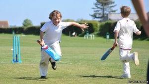 Child cricketer