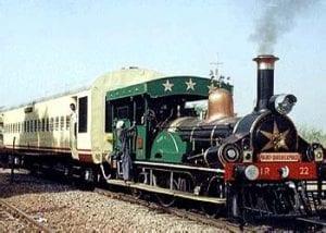 Royal palace train in India