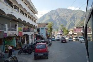 bhuntar town