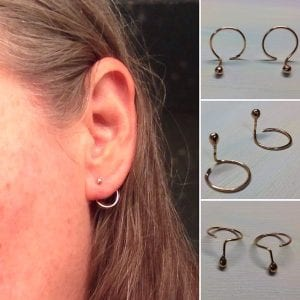 OOMPH Every Look With 15 Different Types of Earrings 8