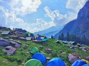 kheerganga camps
