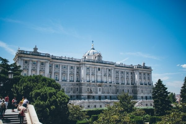 royal palace of Spain