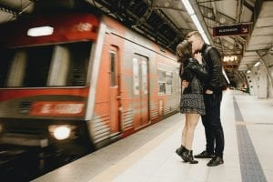 couple in public