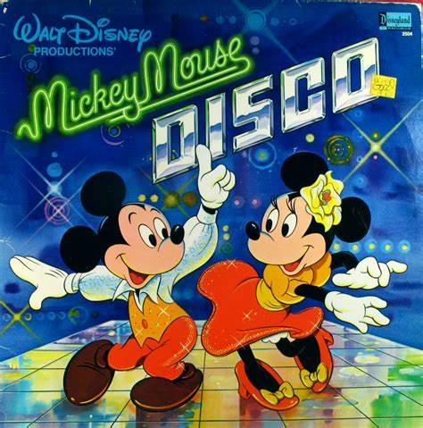"""Mickey launched his first music album """"Mickey Mouse Disco"""" in 1979"""