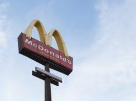 Air View of McDonald's