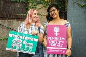 Feminists Fighting for Equality