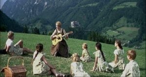 A still from The Sound of Music