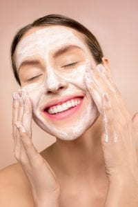 woman-with-white-facial-soap-on-face-3762466