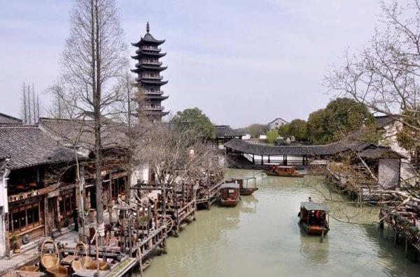 best water towns near shanghai