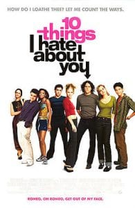 10 Things I Hate About You Poster