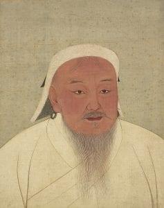 Genghis Khan Potrait