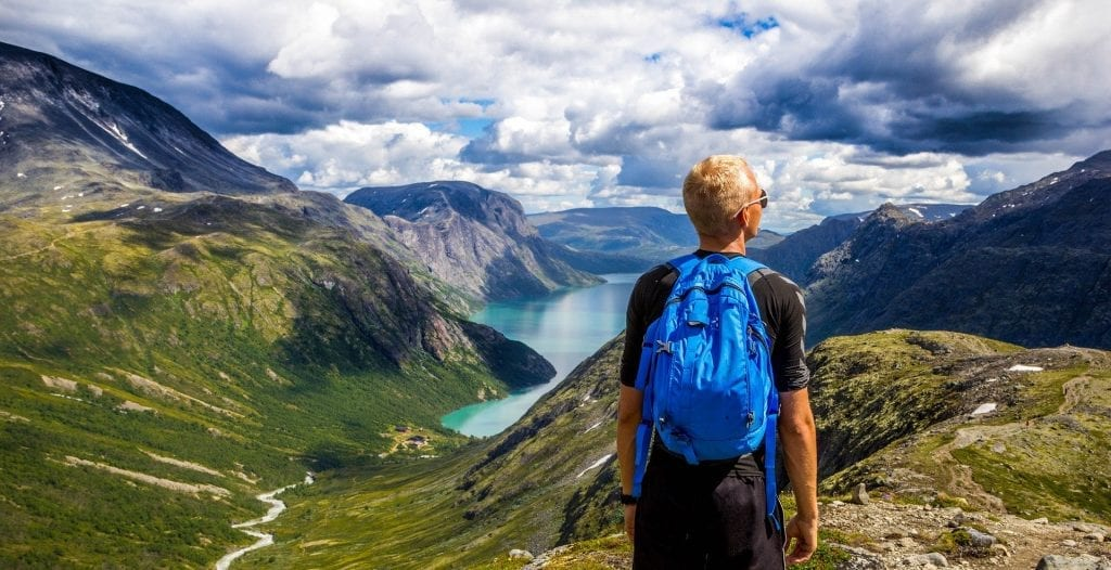 Outdoor life: backpacking!