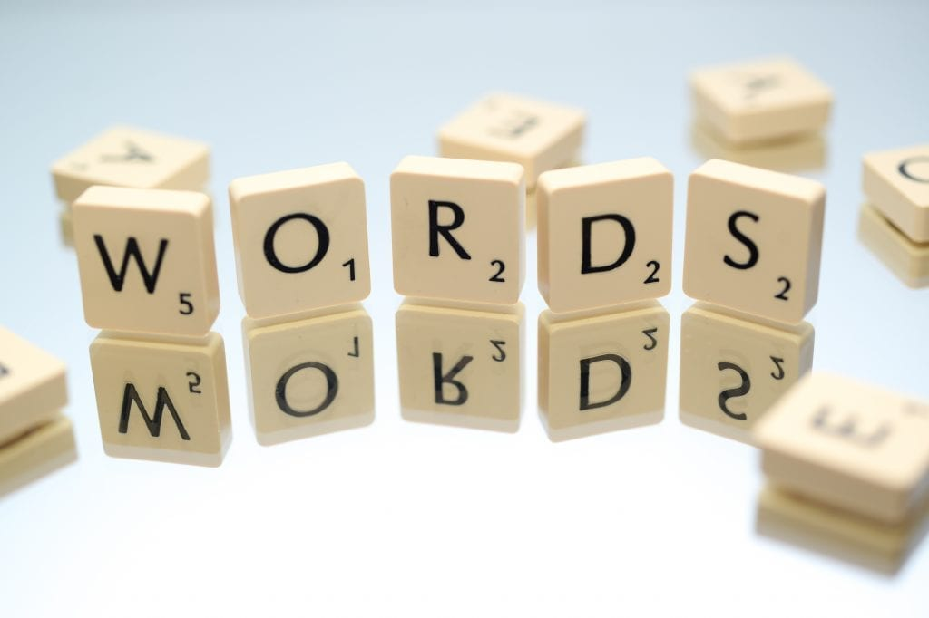 words selection