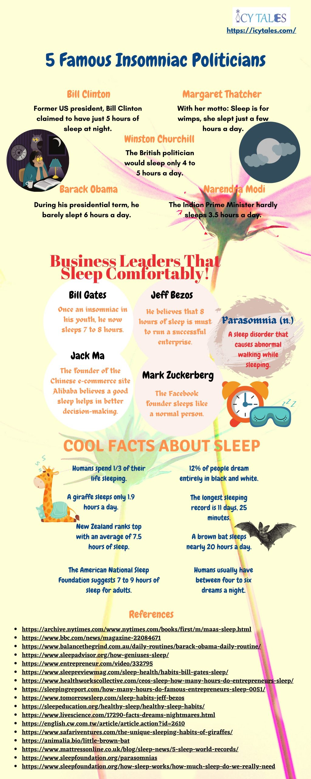 Lesser Known Facts About Sleep