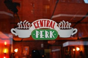 Central Perk Window