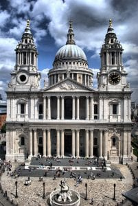 St. Paul's cathedral west front