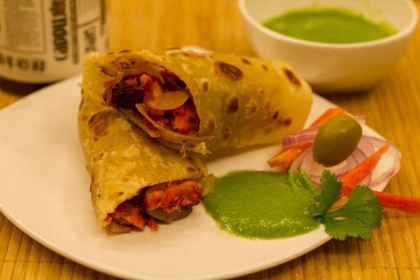 rolls, new delhi famous food