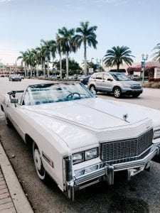 The famous Ocean Drive Road