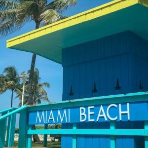 Miami Beach is known for its amazing art deco