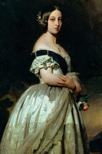 Queen Victoria, Queen of the United Kingdom.