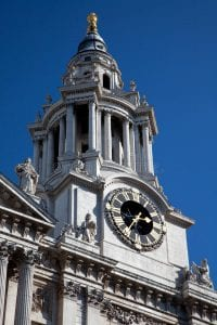 St. Paul's cathedral clock tower