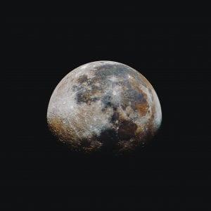 Oblong moon