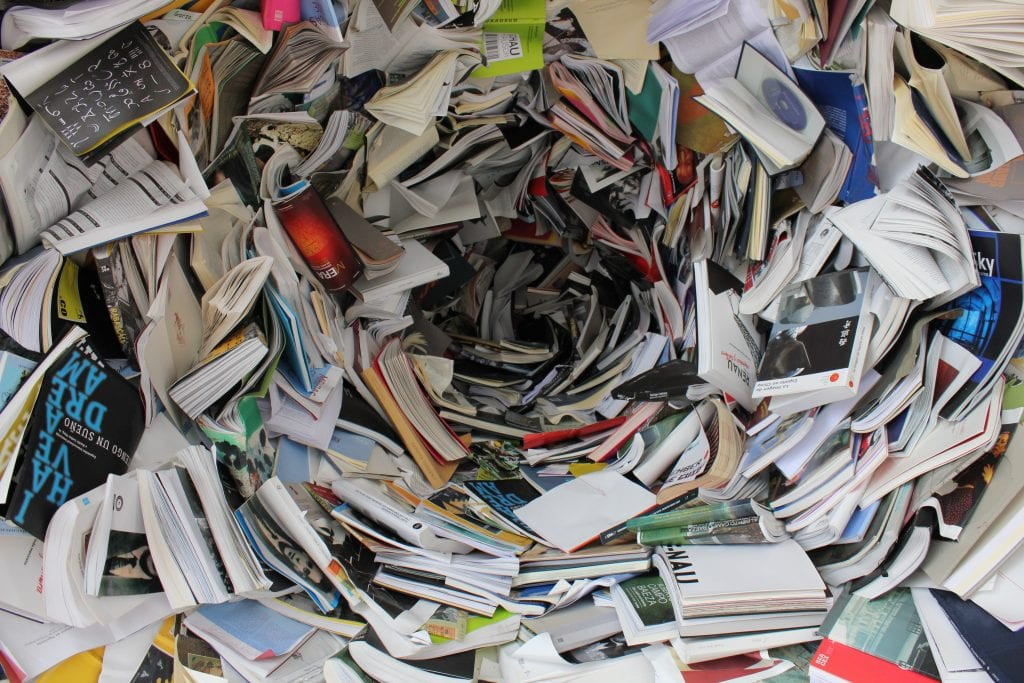 reduce consumption of paper