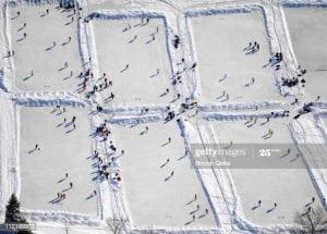 Variety of snow sports can be enjoyed around the Lake Winnipesaukee