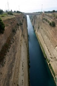 Corinth Canal: 5 Outstanding Facts You Must Know 5