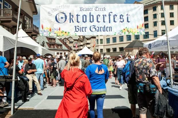 Beaver Creek Oktoberfest features Bavarian festivities Sept. 2-3 ...