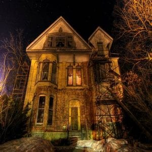 9 of the Spookiest Haunted Houses in Indiana 9