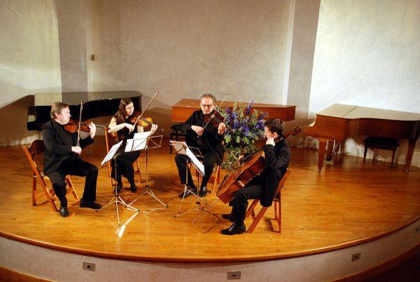 String Quartet - fiddle vs. violin