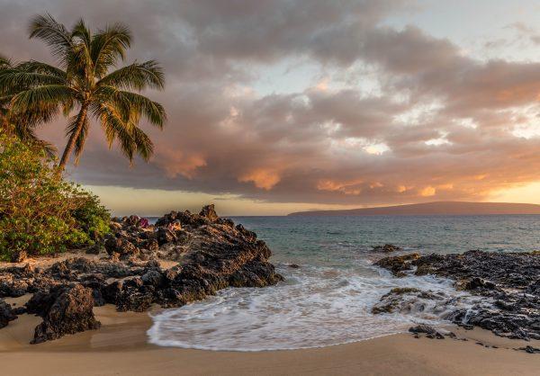 A beach in Maui, Hawaii