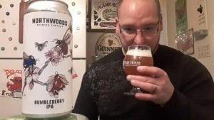 """BUMBLEBERRY IPA"" ipa - Northwoods Brewing Co - YouTube"
