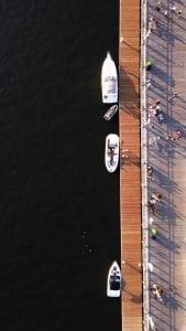 Buffalo river waterfront