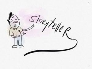 Storytelling presentation ideas