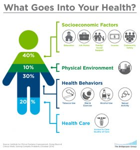 What goes into your health