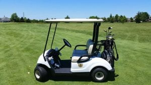 You can hire Golf carts while you play golf at this academy