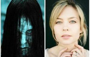 Detrás de las mascaras de los personajes de terror: Samara Morgan