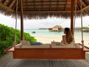 overwater bungalow caribbean