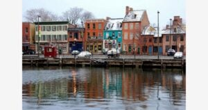 A Picture of the Fells Point, Baltimore