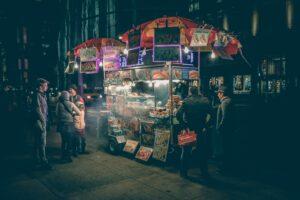 A food items vendor
