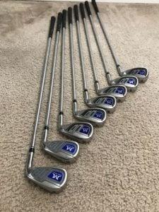 "MAZEL Single Weight Length 37"" Golf Irons Set 4-9, PW & SW Steel Shaft ..."