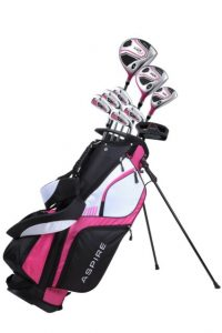 NEW Aspire XD1 Ladies Womens Complete Right Handed Golf Club Package ...